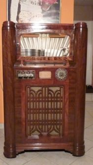 WURLITZER 1080 - 1947 - Jukebox Center - Meinier - Genève