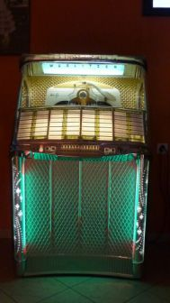 WURLITZER 2104 - 1957 - Jukebox Center - Meinier - Genève